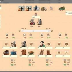 Calculadora de batallas para el Empire Four Kingdoms